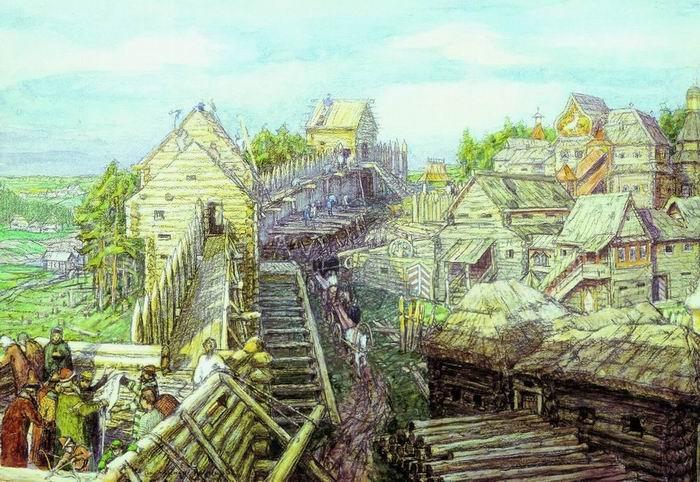 Картинки по запросу древняя москва