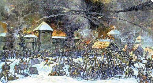 Нашествие орды монгольских ханов на Москву