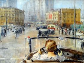"""Пименов Ю. И. """"Новая Москва"""" 1937 год"""
