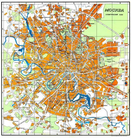 Карта москвы google