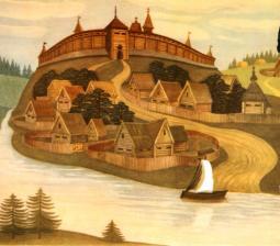 Древний Кремль на Боровицком холме