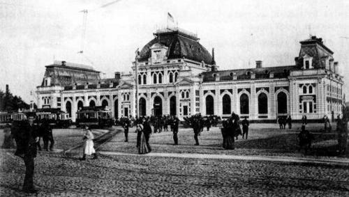 Павелецкий (Саратовский) вокзал