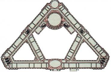 Схема строения Сената