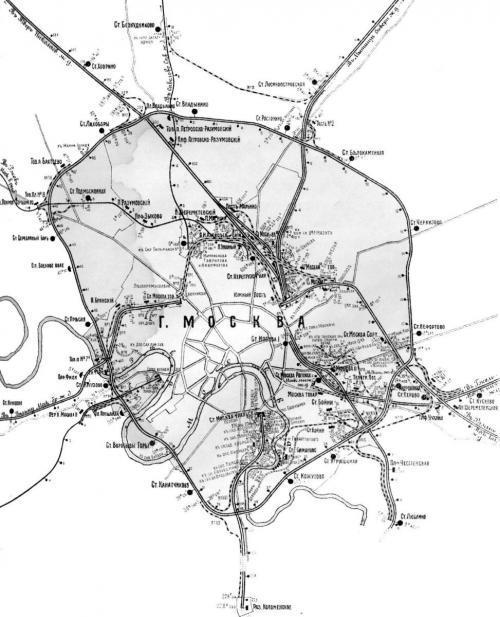 Московская железная дорога, 1912 год